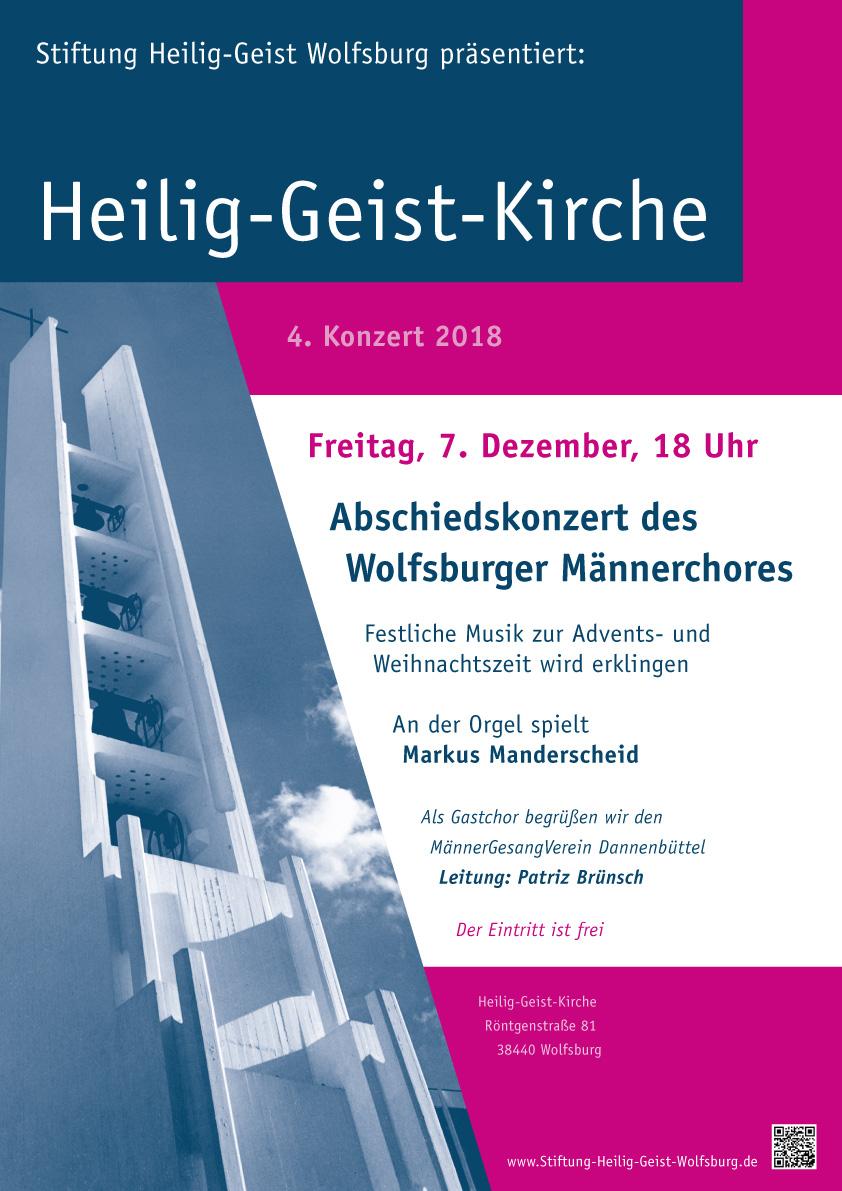 Heilig Geist Kirche Poster 2018 K4